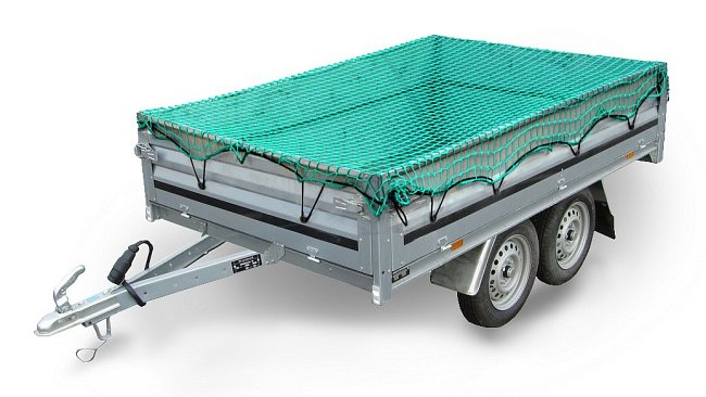 Sieť na prívesný vozík 2x3m