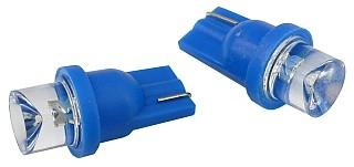 Žiarovka LED 12V 5W T10 modrá 2ks