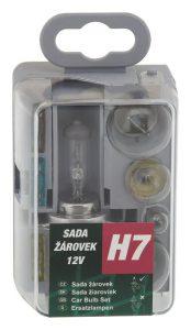 Žiarovky servisný box univerzálny H7 GREEN