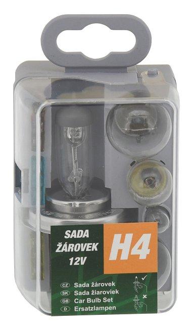 Žiarovky servisný box univerzálny H4 GREEN