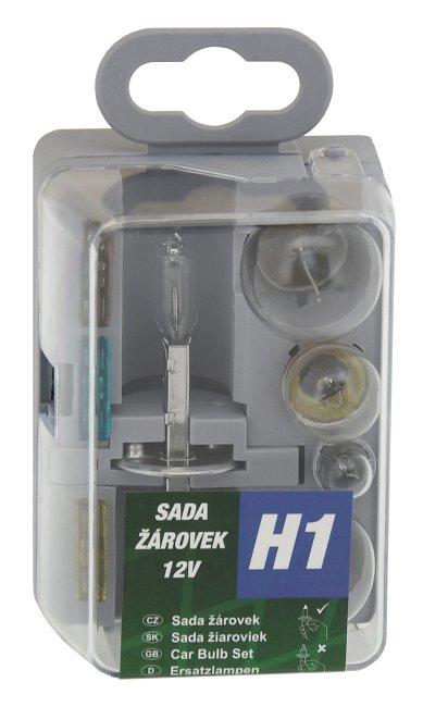Žiarovky servisný box univerzálny H1 GREEN