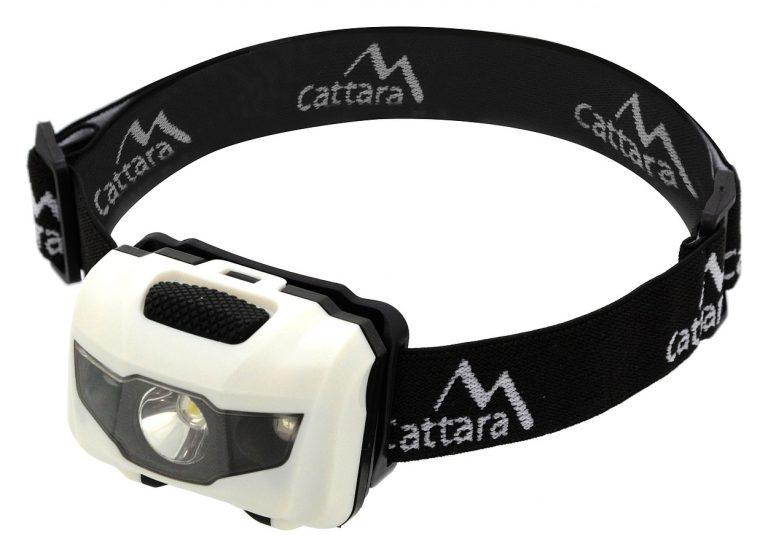 Čelovka LED 80lm čierno-biela