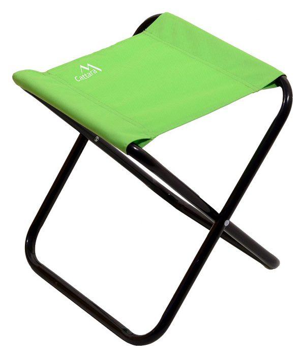 Stolička kempingová skladacia MILANO zelená