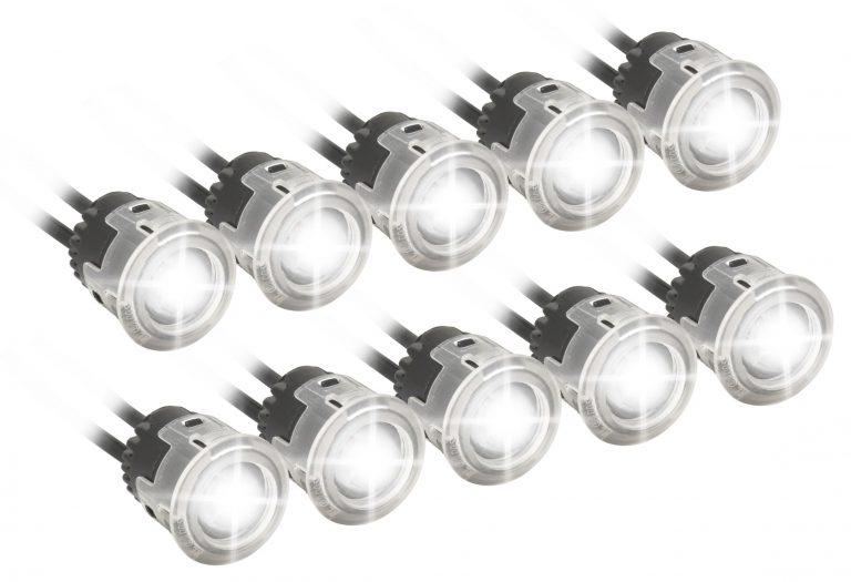 Svetlá denného svietenia 5+5 HIGH POWER LED 12V/24V