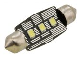Žiarovka 3 LED SMD 12V suf.11X38 SV8.5 NEW-CAN-BUS bílá 2ks