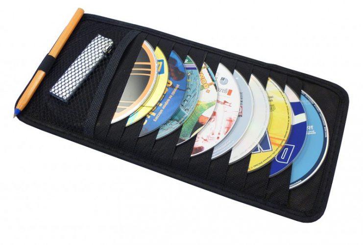 Organizér na CD Car