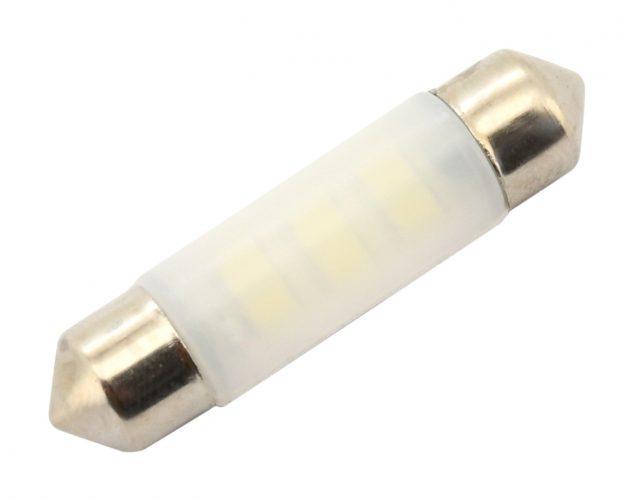 Žiarovka 6 LED SMD 12V suf.10X39 SV8.5 NEW-CAN-BUS modrá 2ks