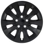 "Jestic 14"" STORM CHROME BLACK set 4ks"