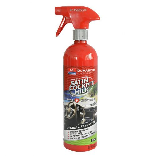 DM SATIN COCKPIT MILK 750ml čistič plastov