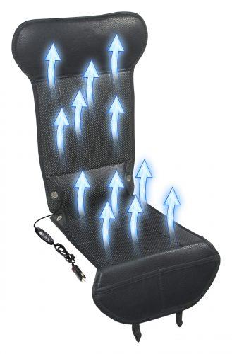 Poťah sedadla s ventiláciou 12V STRICK AIR black